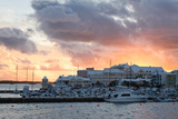 Hamilton Harbor Sunset, Bermuda Photographic Print by George Oze