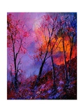 Magic Trees Giclee Print by Ledent