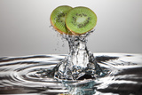 Kiwi FreshSplash Photographic Print by Steve Gadomski