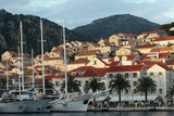 Hvar Harbor, Dalmatian Coast, Croatia Photographic Print by George Oze