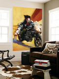Wolverine 74 Cover: Wolverine Wall Mural by Tommy Lee Edwards