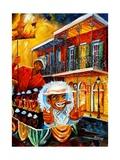 Mardi Gras Parade Giclee Print by Diane Millsap