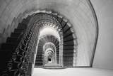 Staircase Perspective Photographic Print by George Oze