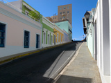 Street View, Calle Norzagaray, Old San Juan Photographic Print by George Oze
