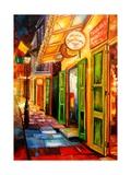 New Orleans Nights Impression giclée par Diane Millsap