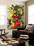 Astonishing Tales No.3 Cover: Spider Woman and Iron Man Wall Mural by Kenneth Rocafort