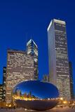 Chicagos Millennium Park Photographic Print by Steve Gadomski