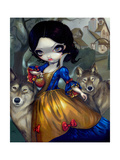 Loup-Garou: Blanche Neige Photographic Print by Jasmine Becket-Griffith