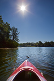 Kayak Morning Photographic Print by Steve Gadomski