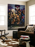 Ultimatum 3 Cover: Magneto, Sabretooth, Madrox, Mystique, Blob, Quicksilver and Lorelei Wall Mural by David Finch