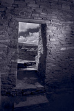 Chaco Portal Chaco Culture National Historic Park BW Photographic Print by Steve Gadomski