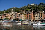Portofino Italy II Photographic Print by Charles Bowman