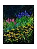 Spring In The Garden Poster por  Ledent
