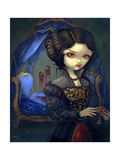 I Vampiri: Bellissimo Letto Photographic Print by Jasmine Becket-Griffith