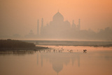 Taj Mahal Photographic Print by Charles Bowman