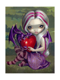 Valentine Dragon Giclee Print by Jasmine Becket-Griffith