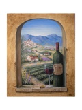 Wine and Lavender Giclee Print by Marilyn Dunlap