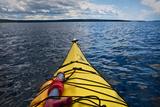 Lake Superior Sea Kayaking Impressão fotográfica por Steve Gadomski