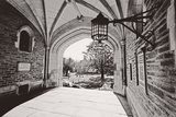 Archway, Blair Hall, Princeton University, NJ Photographic Print by George Oze