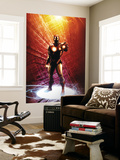 Invincible Iron Man No.14 Cover: Iron Man Premium Wall Mural by Salvador Larroca