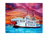 New Orleans River Boat Giclee Print by Diane Millsap