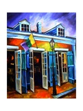 Bourbon Street Rocks Prints by Diane Millsap