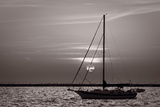 Sailboat Sunrise Photographic Print by Steve Gadomski