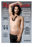 Russell Brand, Rolling Stone no. 1106, June 10, 2010 Photographic Print by Wenner Theo
