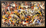 Convergence Art by Jackson Pollock