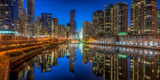 Chicago River East Photographic Print by Steve Gadomski