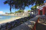 Old San Juan City Gate View, Puerto Rico Reproduction photographique par George Oze