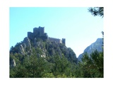 Cathar Castle Puilaurens Giclee Print by Marilyn Dunlap