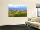 Logan City & Cache Valley at Sunset, Utah, USA Wall Mural by Scott T. Smith