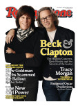 Beck and Clapton, Rolling Stone no. 1099, March 4, 2010 Photographic Print by Jones Sam