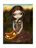 Halloween Twilight Poster by Jasmine Becket-Griffith