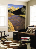 Fremont River Runs Muddy With Snow-Melt in Early Spring, Capitol Reef National Park, Utah, USA Wall Mural by Scott T. Smith