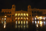 City Hall at Night, Old San Juan, Puerto Rico Photographic Print by George Oze