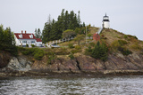 Owls Head Lighthouse, Rockland Harbor, Maine Photographic Print by George Oze