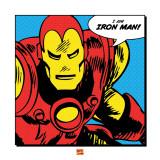 Je suis Iron Man! en anglais Affiches
