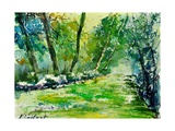 Watercolor 019031 Giclee Print by  Ledent