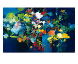 Suspension Florale Giclee Print by Max Laigneau