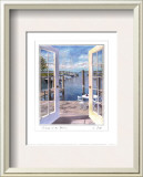 Dockside at the Marina Prints by Carol Saxe