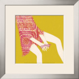 Hands And Dragonfly Prints by Nicole De Rueda