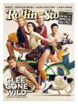 Glee Gone Wild, Rolling Stone no. 1102, April 15 2010 Photographic Print by Seliger Mark