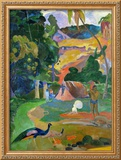 Matamoe (Peacocks in the Country), 1892 Framed Giclee Print by Paul Gauguin