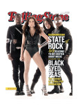 Black Eyed Peas, Rolling Stone no. 1103, April 29, 2010 Photographic Print by Seliger Mark