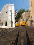 Elevator Cable Cars of Lisbon Photographic Print by George Oze