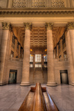Chicagos Union Station Waiting Hall Photographic Print by Steve Gadomski