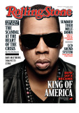 Jay-Z, Rolling Stone no. 1107, June 24 2010 Photographic Print by Seliger Mark