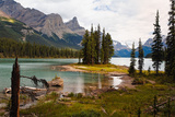 Spirit Island, Jasper National Park, Canada Photographic Print by George Oze